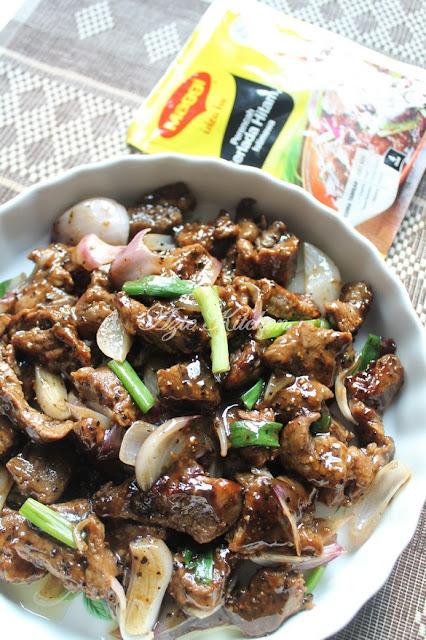 Daging Berlada Hitam Istimewa Ala Restoran Mewah