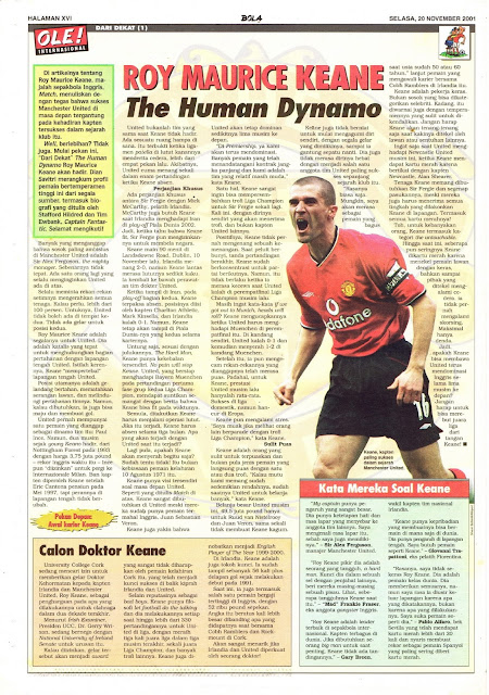 ROY MAURICE KEANE THE HUMAN DYNAMO