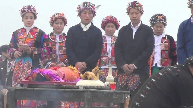Rain praying ritual of the Lo Lo in Ha Giang 2