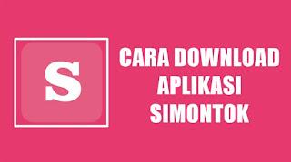 Cara Download Aplikasi Simontok Terbaru di Android