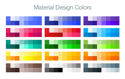 Material design trend
