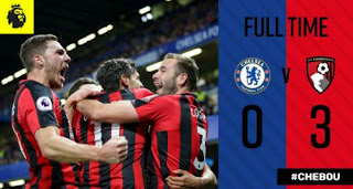 Chelsea vs AFC Bournemouth 0-3 Video Gol Highlights