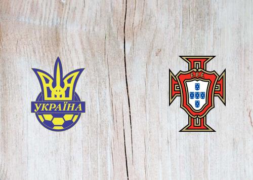 Ukraine vs Portugal -Highlights 14 October 2019
