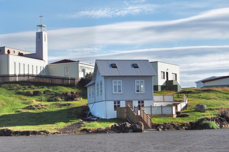 Stykkishólmur, ville portuaire islandaise