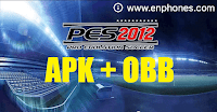 Download Pes 2012 apk & Obb Data for Android