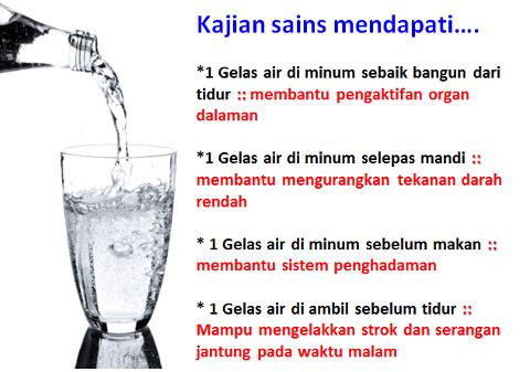 manfaat minum air kosong