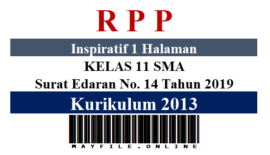 RPP Inspiratif 1 Lembar K-2013 Kelas 11 SMA Semester 2
