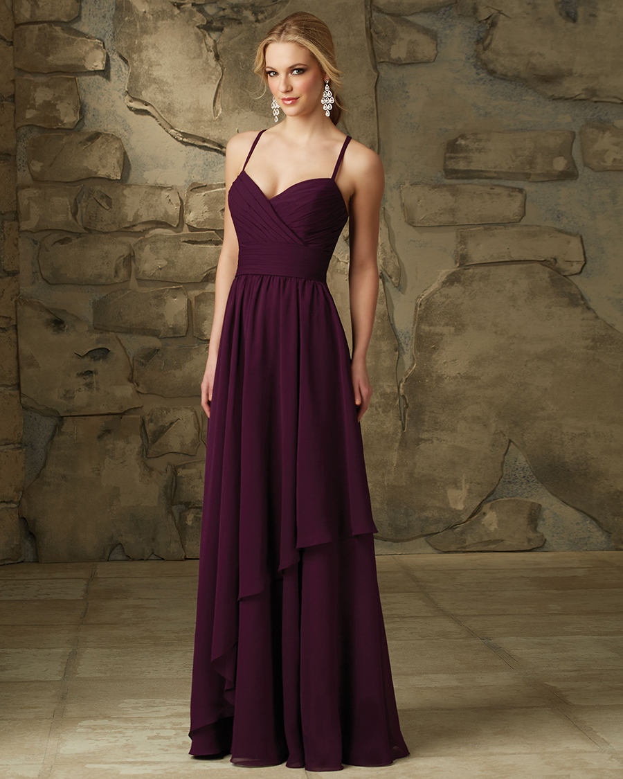 Lux Chiffon Dress bridesmaid