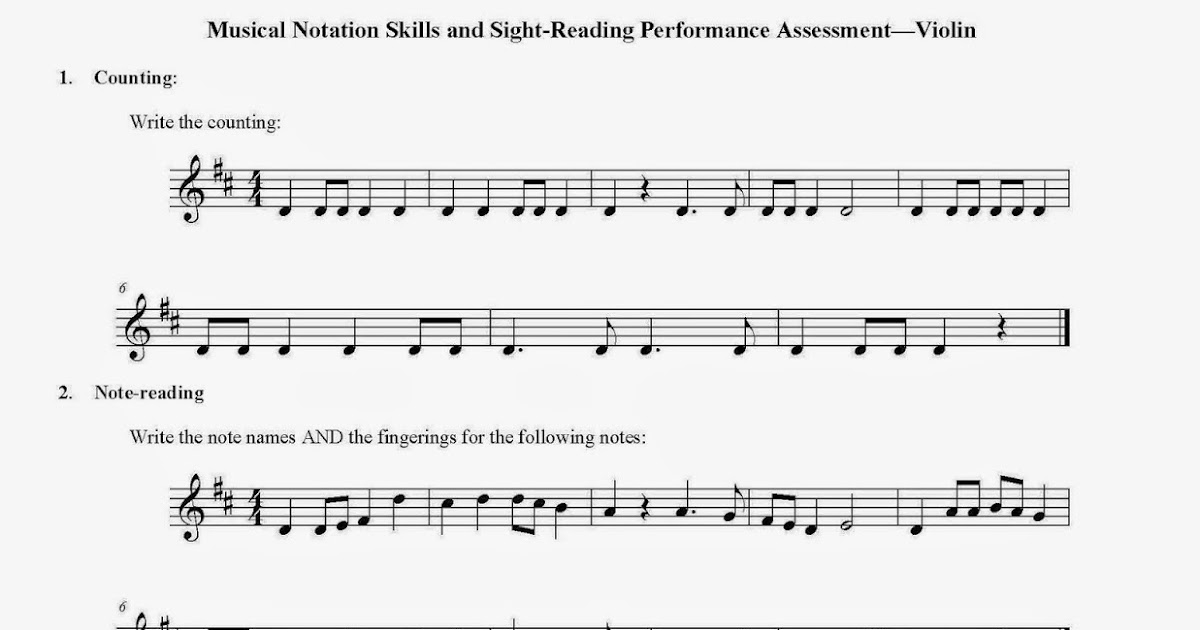 Printable Worksheets counting music notes worksheets : Orchestra Classroom Ideas: Teaching Sight-Reading