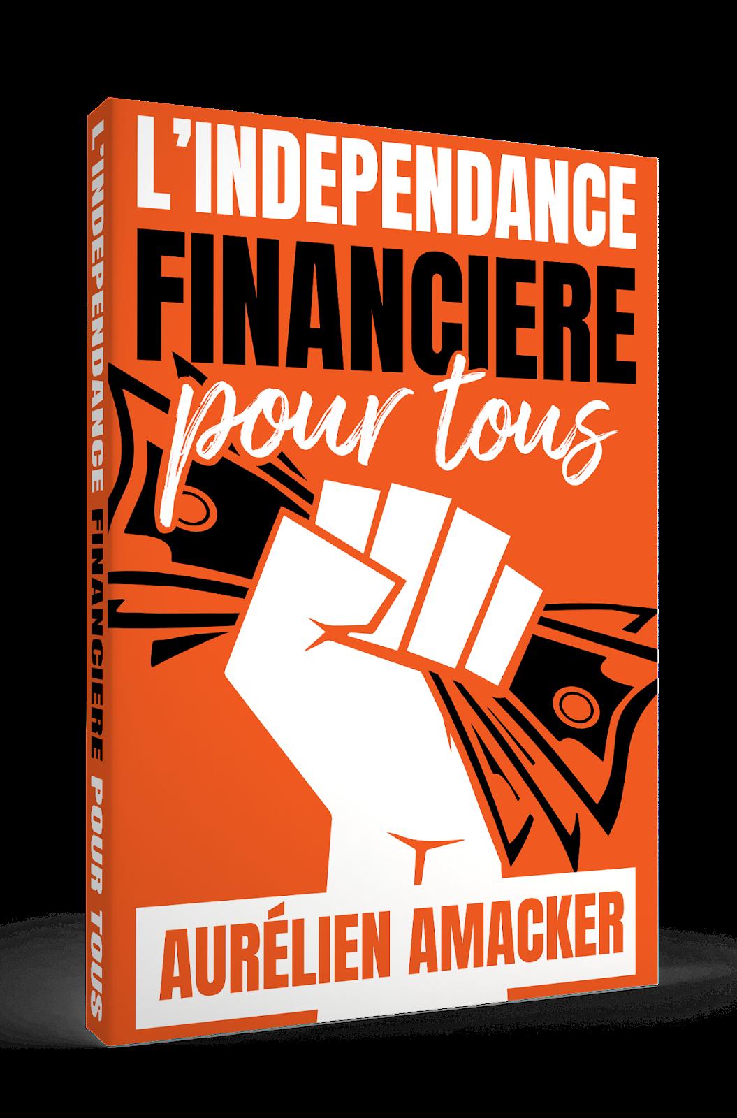 """le livre gratuit """"L'indépendance financière pour tous"""""""