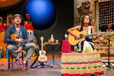 Zeca Baleiro e Zélia Duncan no Sr. Brasil_Foto Pierre Yves Refalo