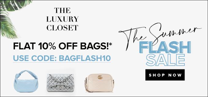 كوبون The Luxury Closet بخصم 50$ على افضل صفقات الحقائب