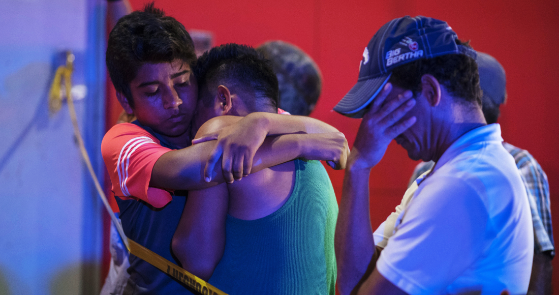 """La cifra de muertos por el ataque al bar """"El Caballo Blanco"""" de Coatzacoalcos, sigue en incremento; ahora Ulises, de 21 años, es la víctima 31"""