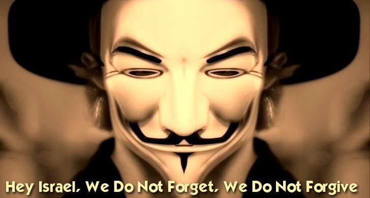 Anonymous Hackers Threaten Israel with 'Electronic-Holocaust' on 7th April