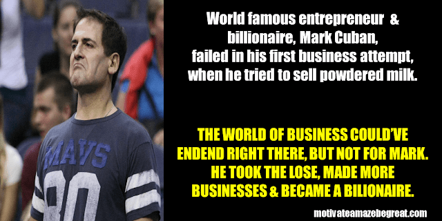 Success Stories From Famous People Who Failed Before Succeeding: Mark Cuban