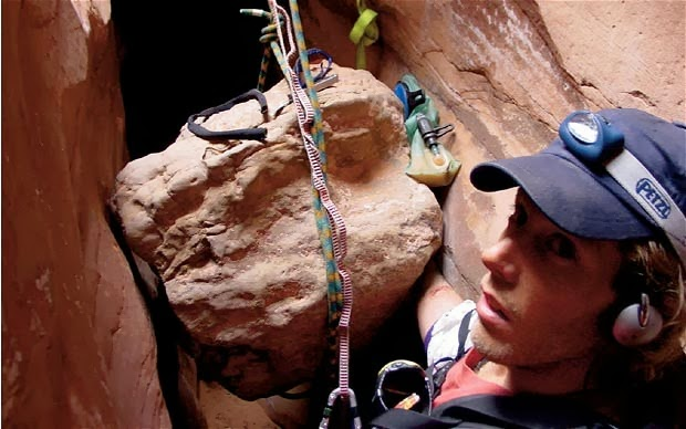 Butchikikay: Aron Ralston, author of the Best-selling book