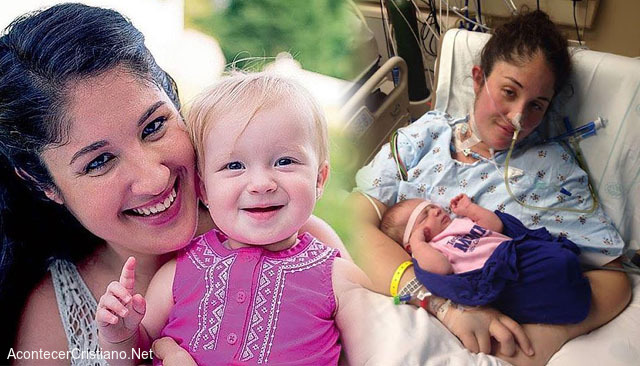 Madre despierta del coma al escuchar a su bebé llorar