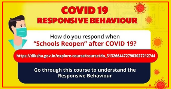 COVID19- Responsive Behaviors Course Join Link Diksha App