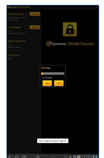 Scanner Symantec Endpoint Protection