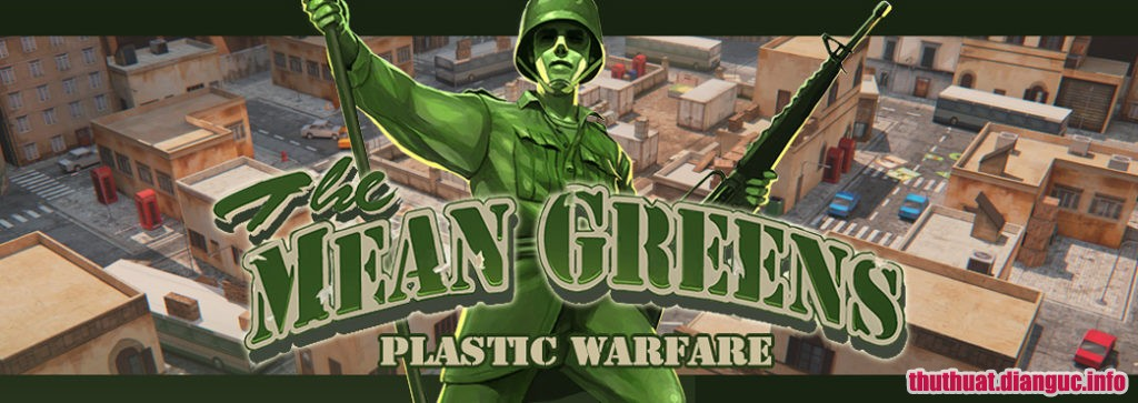 Download Game The Mean Greens – Plastic Warfare Full Cr@ck