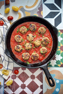 Ćuftice od patlidžana u paradajz sosu