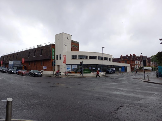 The former Blockbuster Video store in Southampton