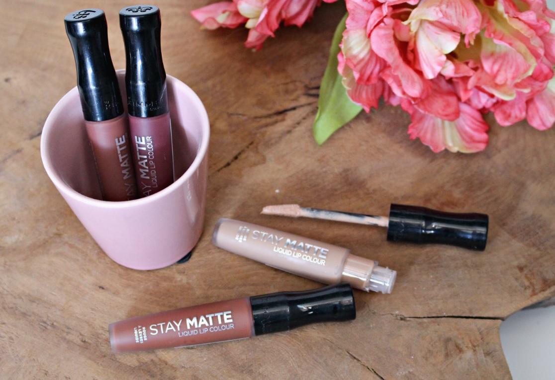 Rimmel Stay Matte Liquid Lip Colour Summer Nudes