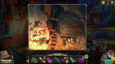 написаны числа на стене в игре тьма и пламя 3 темная сторона