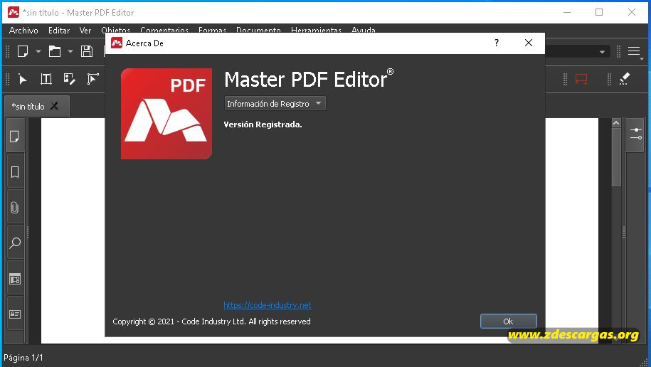 Master PDF Editor 2021 Full Español
