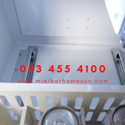 tủ mát minibar homesun cánh kéo