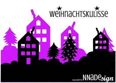 Weihnachtskulissen/Winterlandschaft