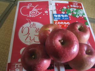 つるの太いりんご