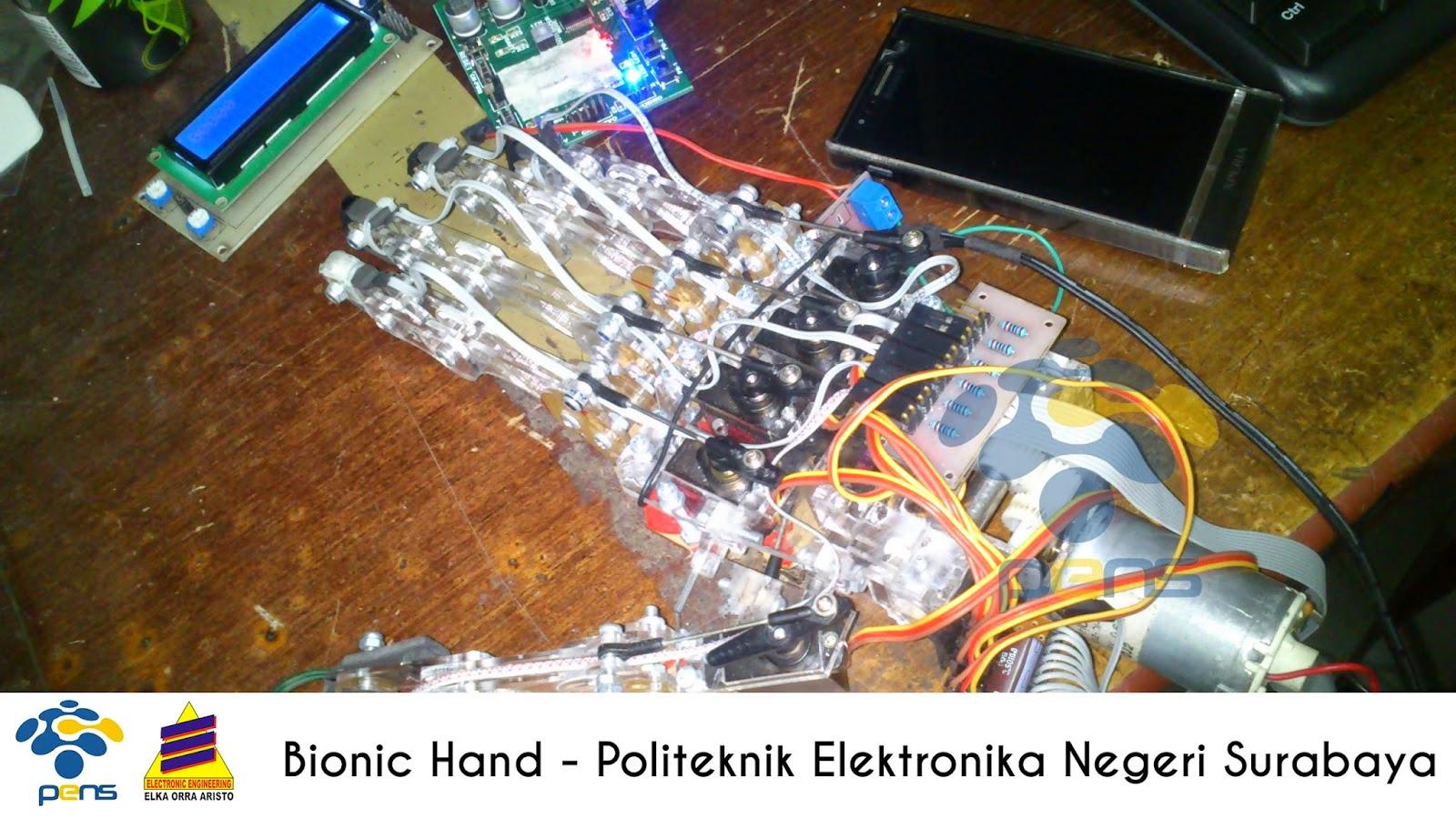 Bionic Hand – Elka PENS