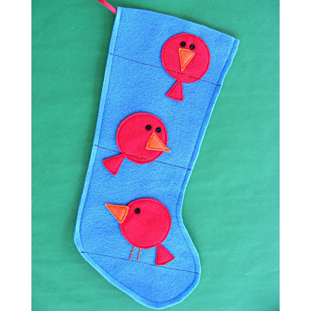 Free Stocking Pattern + Free Ornament Pattern = Fun ...