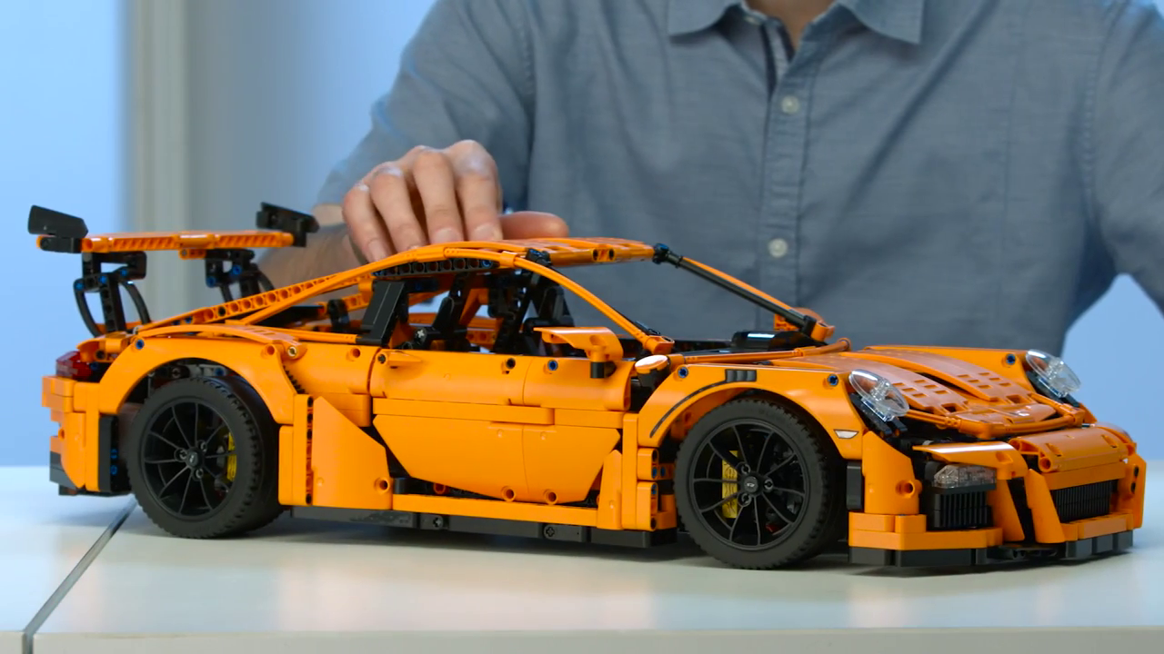 lego technic porsche 911 gt3 rs any tips dot com. Black Bedroom Furniture Sets. Home Design Ideas