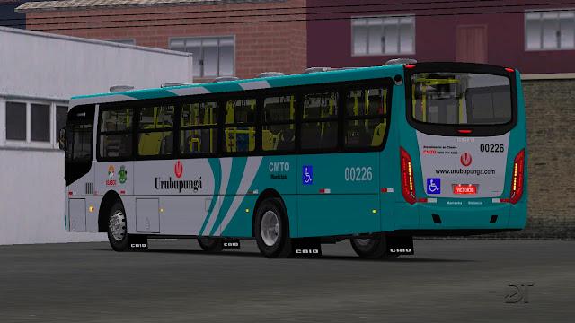 OMSI 2 - Caio Apache VIP IV MB OF-1721 BT5 padrão Urubupungá