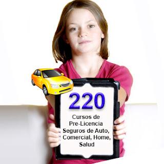 informate sobre pasos para trabajar como agente de seguros licencia 220