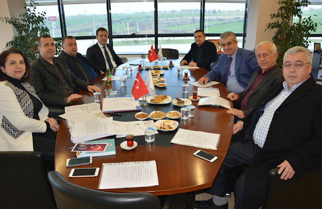 Bülend Engin Başkanlığında ÇTSO Yönetim Kurulu Toplandı