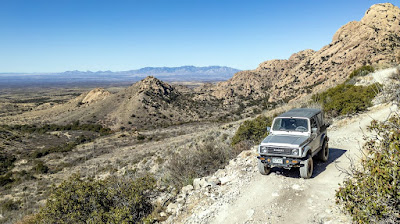More four-wheeling explorations and a hike to Council Rocks