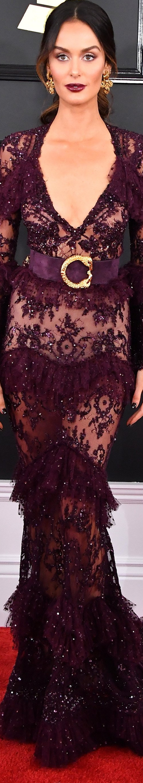 Nicole Trunfio 2017 Grammy Awards