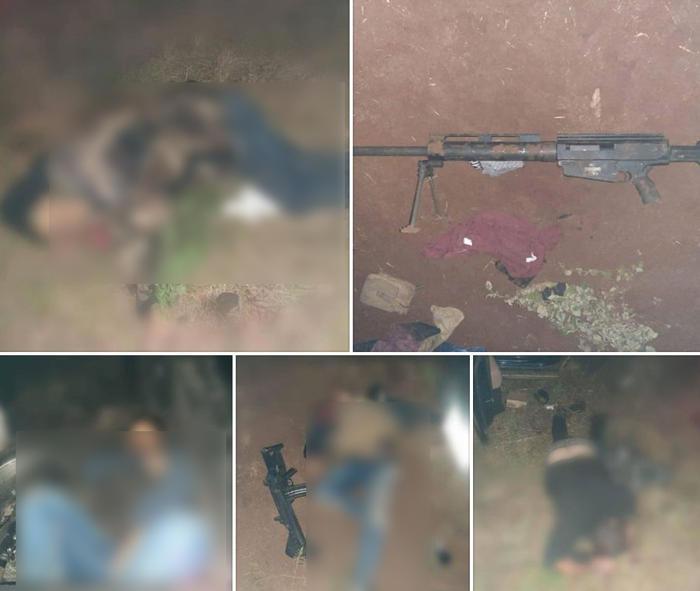 Cuatro muertos en enfrentamiento entre el CJNG y La Nueva Familia Michoacana