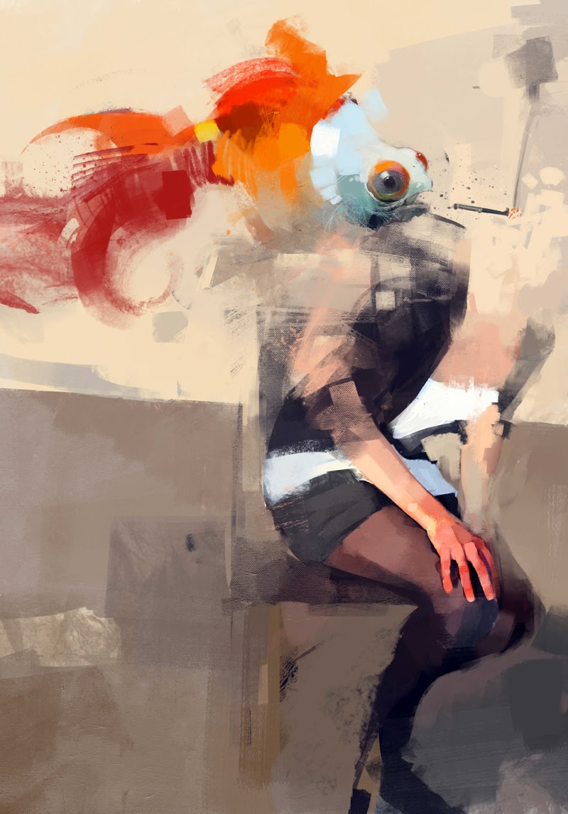 Paintings by Pedro Covo.