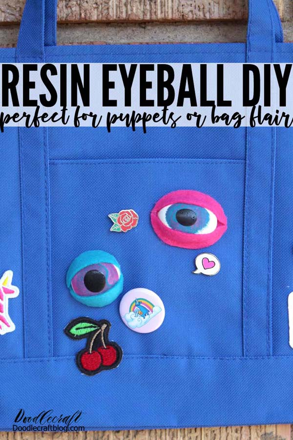 Make resin monster eyes that are perfect for Halloween or Cosplay costumes, Puppets, or other fun DIY's. This is a great resin project for any skill level.