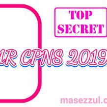 Pendaftaran CPNS dan PPPK (P3K) 2019