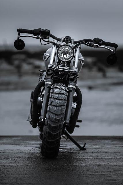 Triumph T120 By FCR Original Hell Kustom