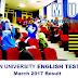 Semakan Keputusan Ujian MUET Sesi March 2017 Secara Online dan SMS