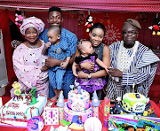 Dance queen's (Kaffy) daughter's First birthday...
