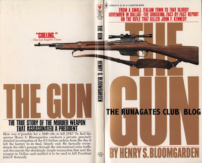 The Gun - that killed J.F.K. - Bantam, 1976