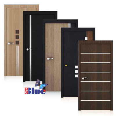 Laminated Doors  sc 1 st  New Decorative Door Print & Blue Sign Print | Door paper print | Laminate Door | Laminated ...