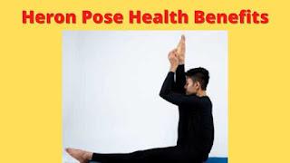 Krounchasana steps benefits and precautions